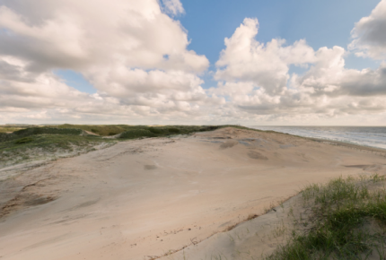 Strand en stuivende duinen