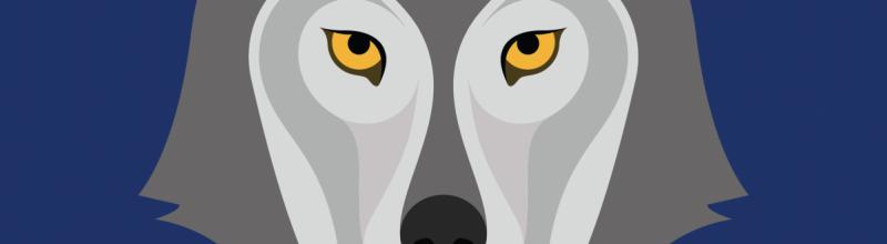Kruip in de huid van de wolf